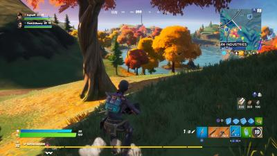 Fortnite Fall Trees Wallpaper 71848