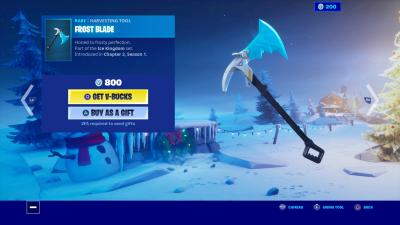 Fortnite Frost Blade Wallpaper 69913