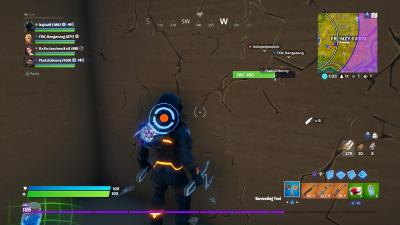 Fortnite Gold Layout Wallpaper 69910