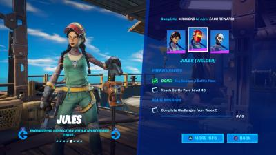 Fortnite Jules Welder Wallpaper 71379