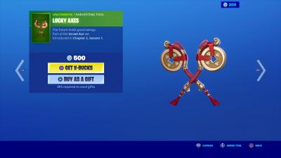 Fortnite Lucky Axes Wallpaper 70154