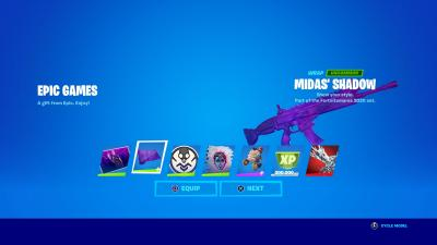 Fortnite Midas Shadow Wallpaper 72156