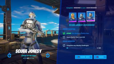 Fortnite Scuba Jonesy Advanced Wallpaper 71382