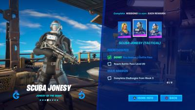 Fortnite Scuba Jonesy Tactical Wallpaper 71381