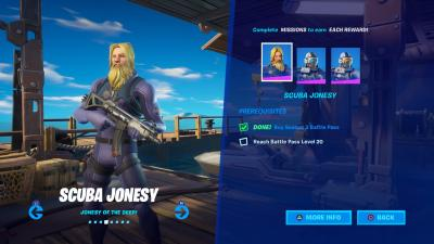 Fortnite Scuba Jonesy Wallpaper 71377