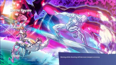 Fortnite Silver Surfer Loading Screen Wallpaper 71775