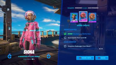 Fortnite Siona Nova Wallpaper 71393