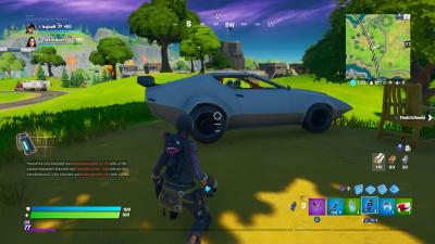 Fortnite Sports Car Wallpaper 71489
