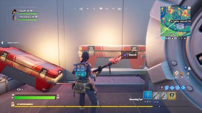 Fortnite Stark Industries Chest Wallpaper 71877