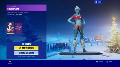 Fortnite Sugarplum Wallpaper 69912