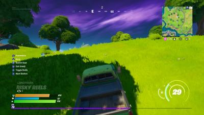 Fortnite Truck Driving Wallpaper 71488