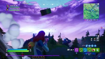 Fortnite Truck Falling Wallpaper 72068