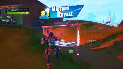 Fortnite Victory Jump Wallpaper 71853