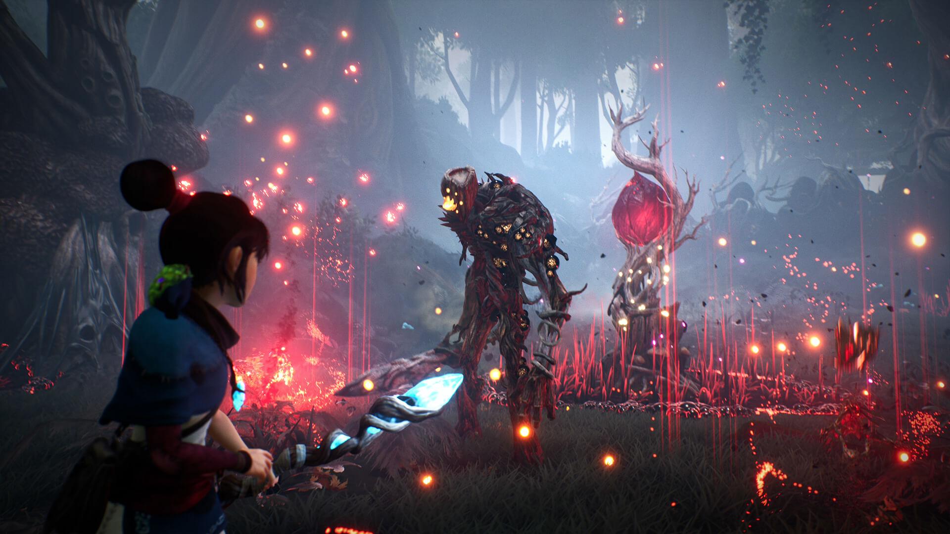 video game kena bridge of spirits wallpaper 72324
