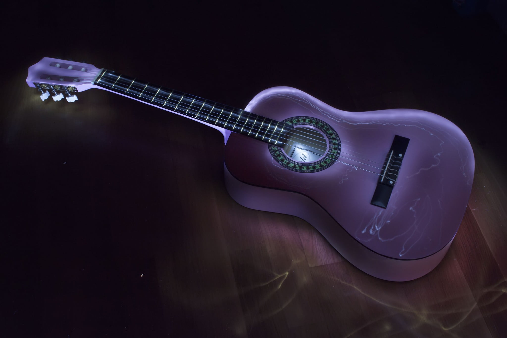 3d guitar wallpaper 72676