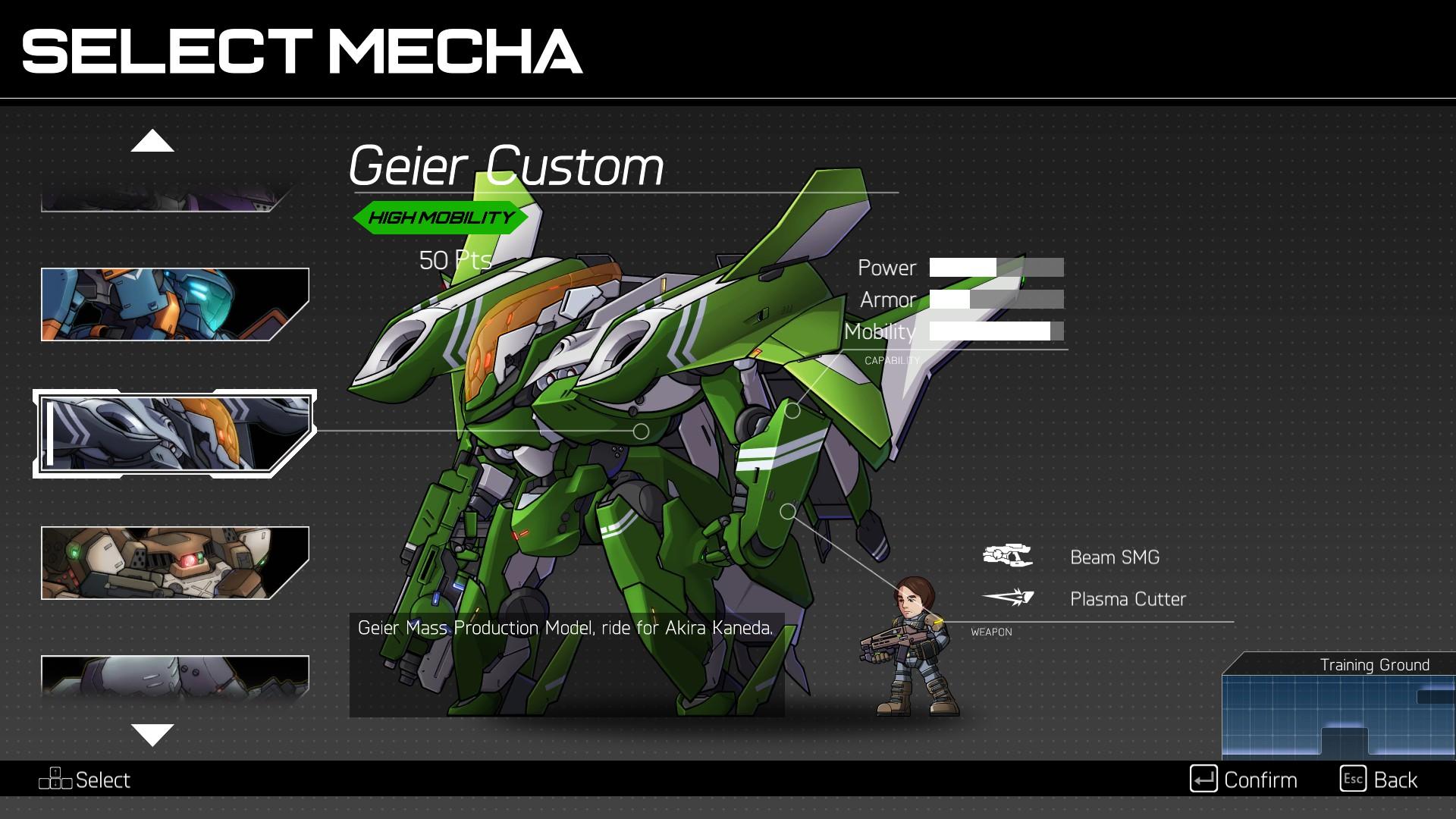 hardcore mecha character select wallpaper 70009