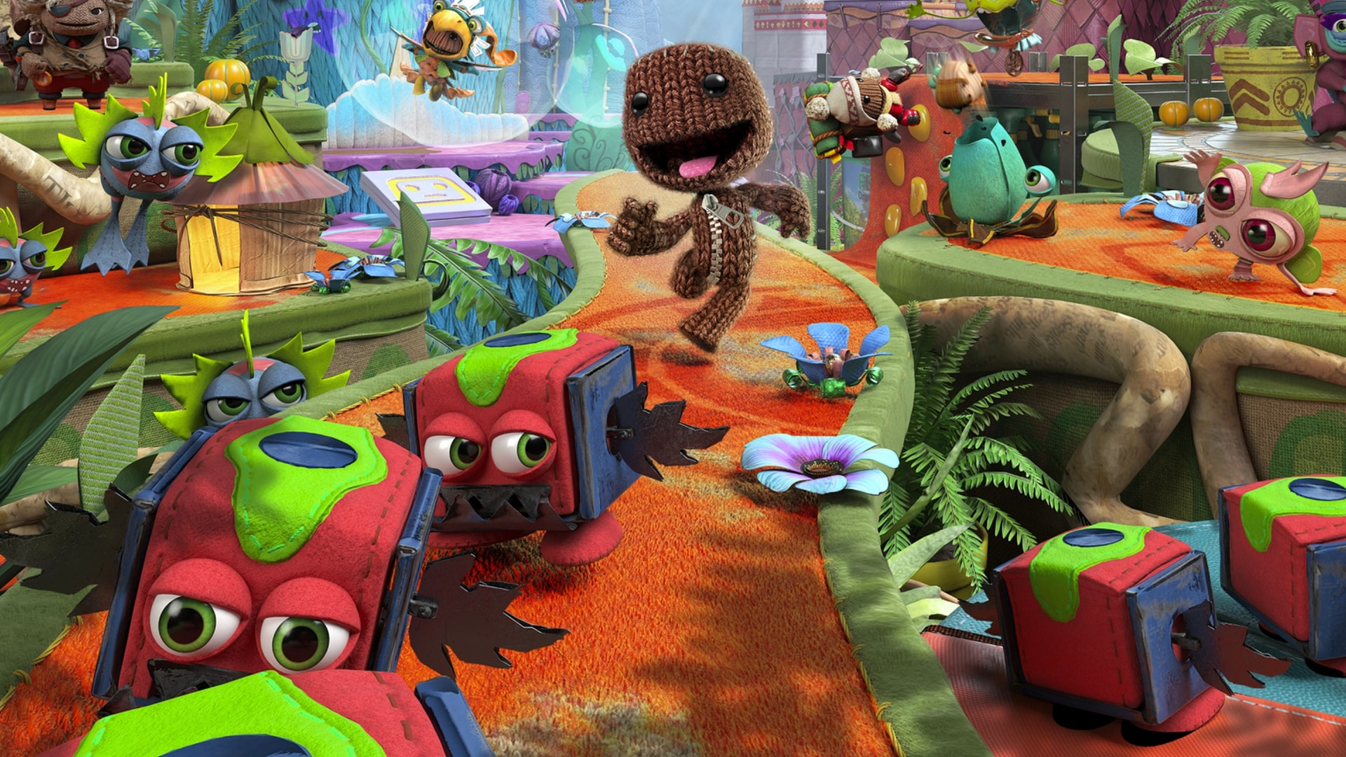 sackboy a big adventure hd wallpaper 72179