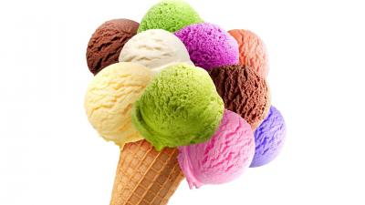 Colorful Ice Cream Cone Wallpaper 70412