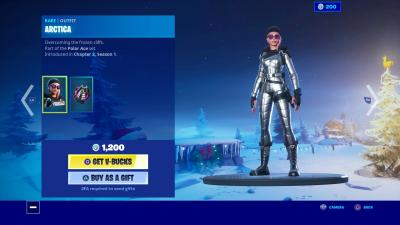 Fortnite Arctica Wallpaper 69932
