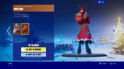 Fortnite Brat Bag Wallpaper 69935