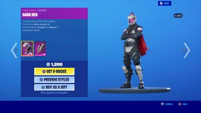 Fortnite Dark Rex Wallpaper 71185