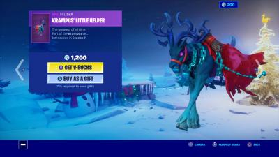 Fortnite Krampus Little Helper Wallpaper 69936