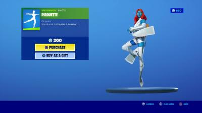 Fortnite Pirouette Wallpaper 72089