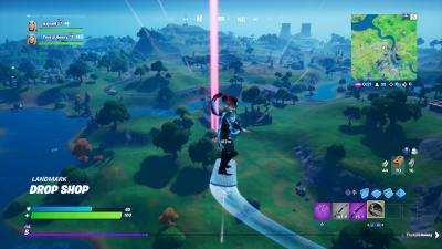 Fortnite Silver Surfer HD Wallpaper 71754