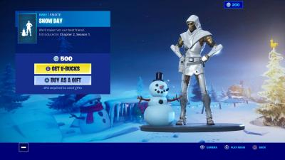 Fortnite Snow Day Wallpaper 69943