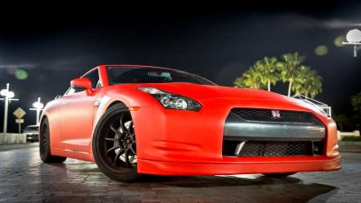 Red Nissan GTR Desktop Wallpaper 71688