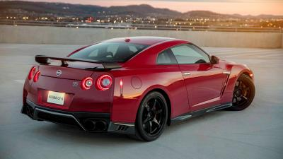 Red Nissan GTR Wallpaper 71684