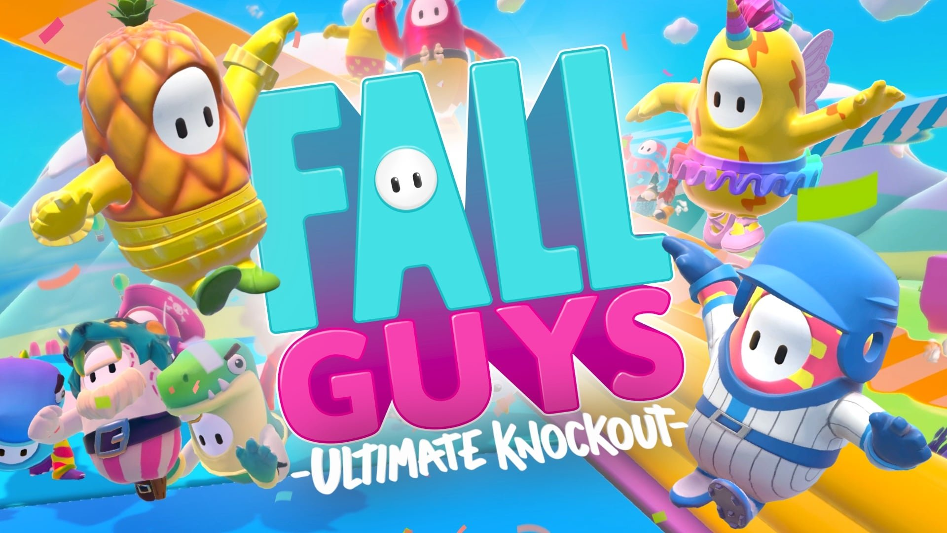 fall guys ultimate knockout video game wallpaper 71438