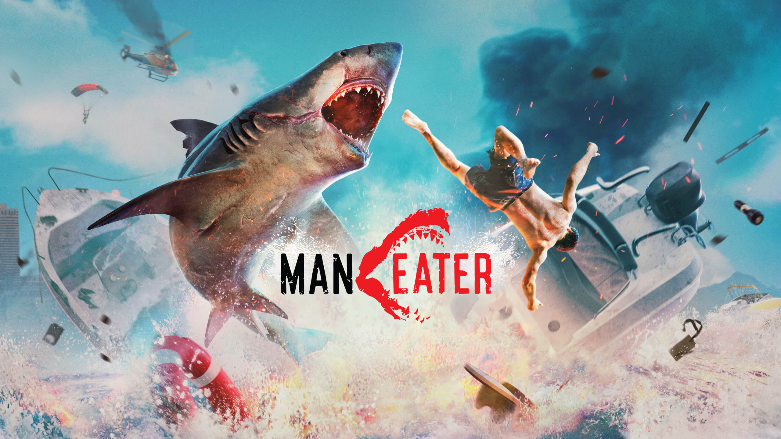 maneater background wallpaper 71283