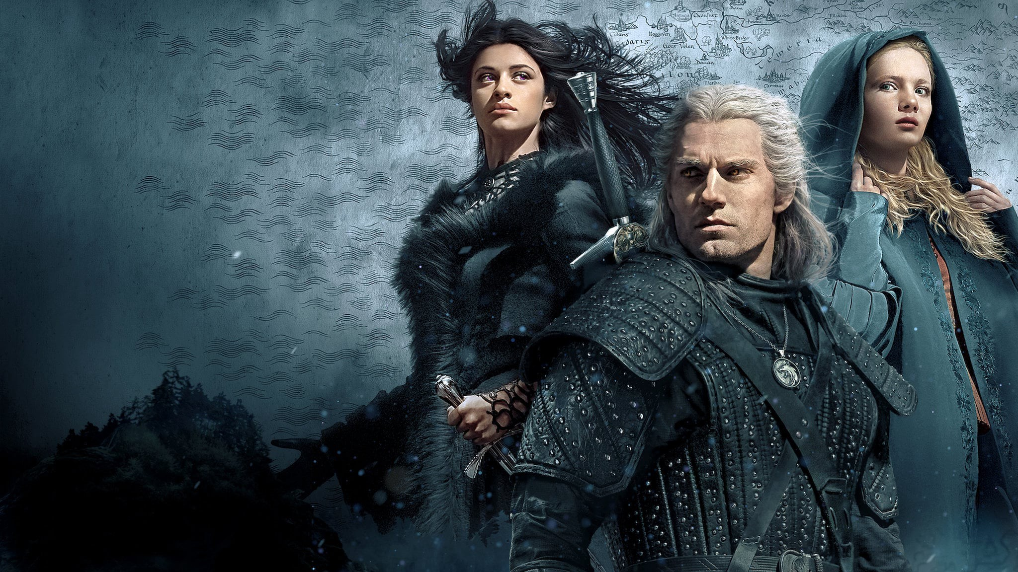the witcher show wallpaper 70100