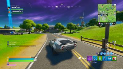 Fortnite Car Boost Wallpaper 71493