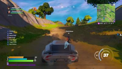 Fortnite Car HD Wallpaper 71497