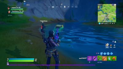 Fortnite Car Sinking Wallpaper 71502