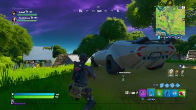 Fortnite Sports Car HD Wallpaper 71491
