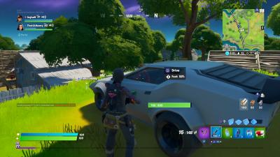 Fortnite Sports Car Wallpaper 71490