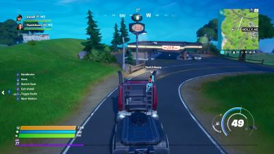 Fortnite Truck Gas Station Wallpaper 71498