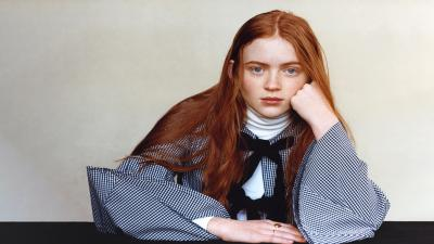 Sadie Sink Actress Background Wallpaper 70399