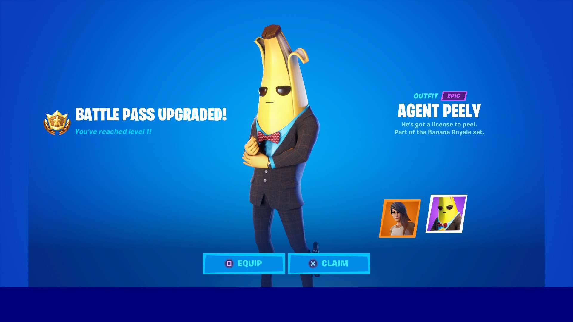 fortnite agent peely wallpaper 70680