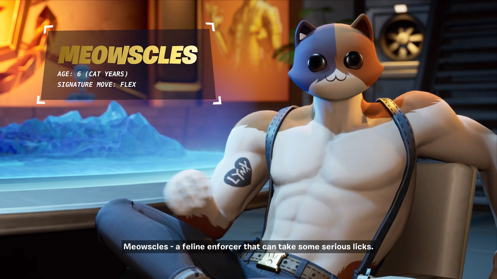 fortnite meowscles wallpaper 70674