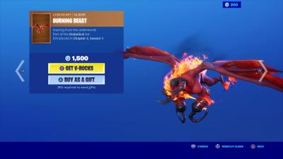 Fortnite Burning Beast Wallpaper 70660
