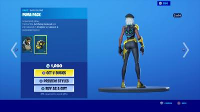 Fortnite Puma Pack Wallpaper 70684