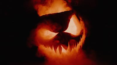 Halloween Pumpkin Smoke Wallpaper 71817