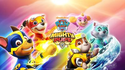 Paw Patrol Mighty Pups Wallpaper 71884