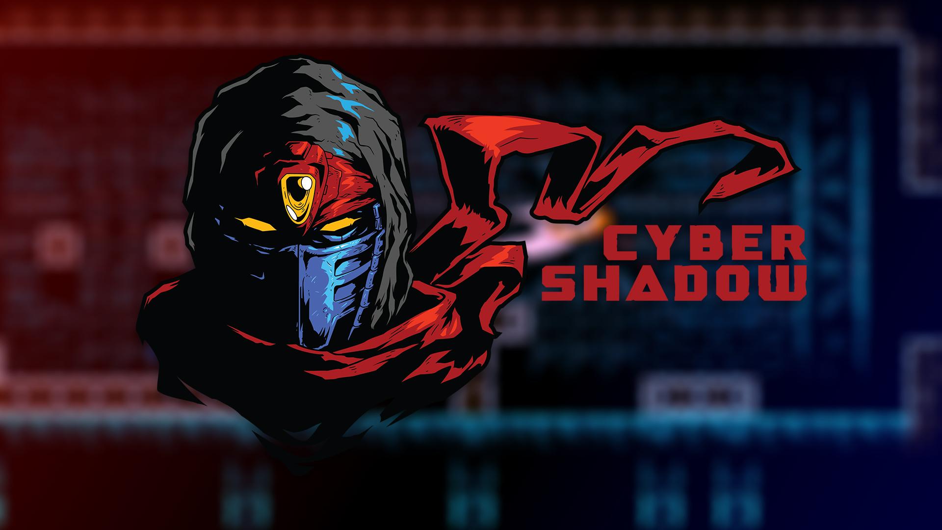 cyber shadow logo wallpaper 73045