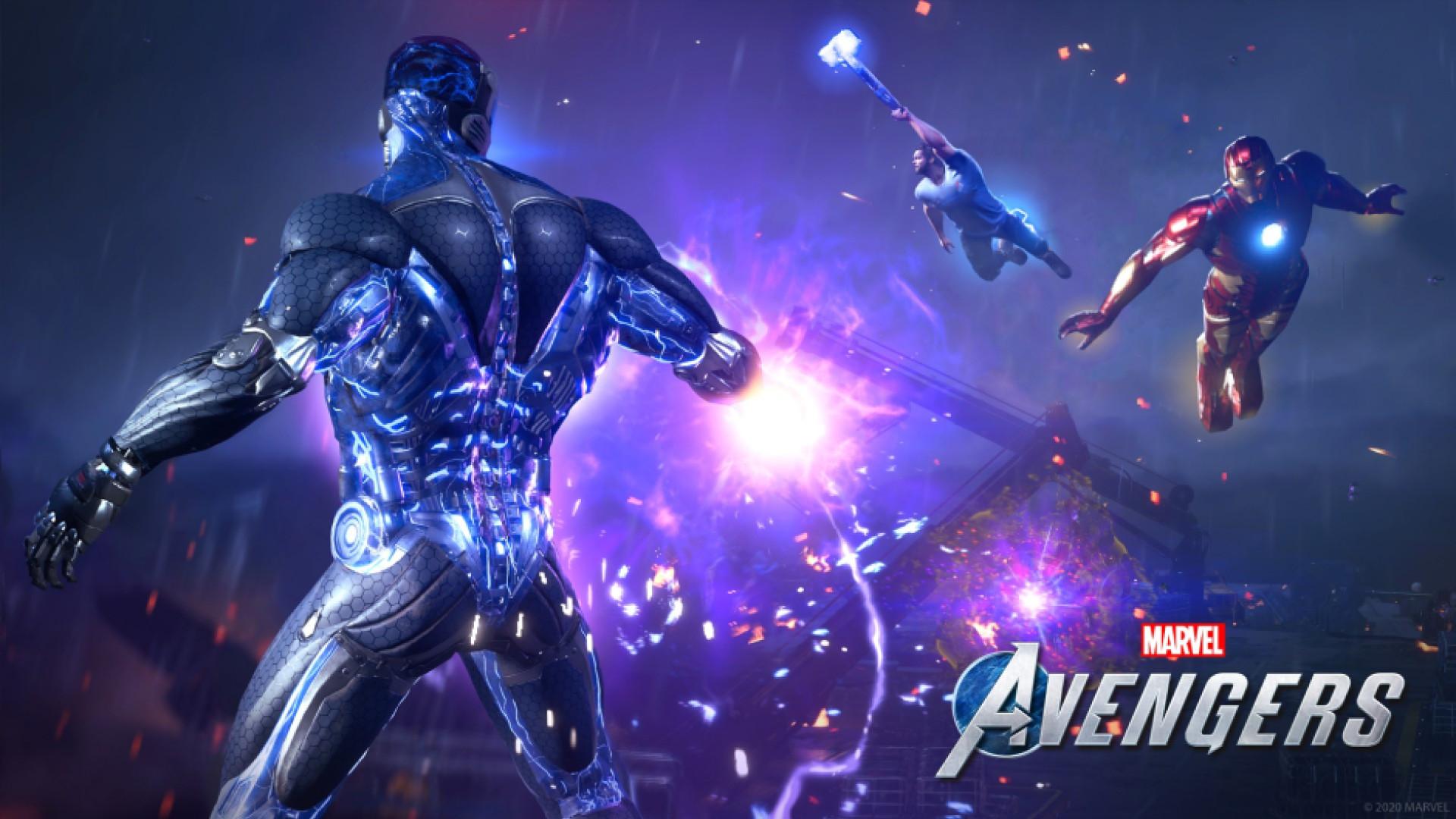 marvels avengers game computer wallpaper 74177