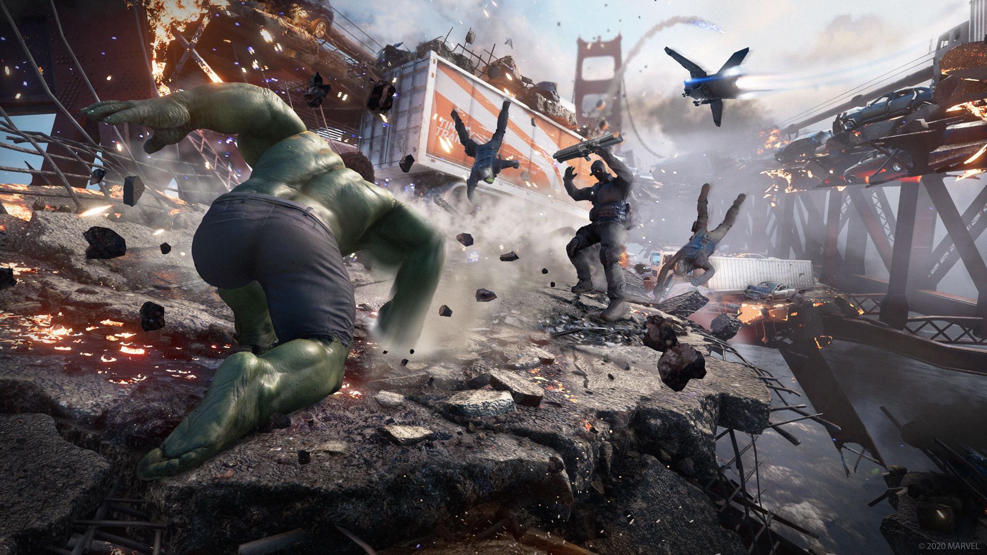 marvels avengers game desktop wallpaper 74175